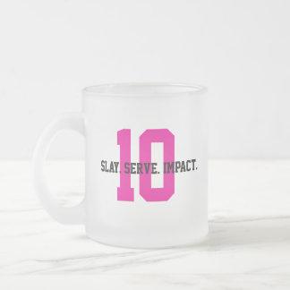 Caneca De Café Vidro Jateado MGL Cuppa - objetivo #10: Desigualdades reduzidas