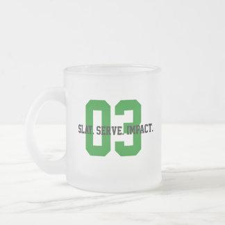 Caneca De Café Vidro Jateado MGL Cuppa - objetivo #3: Boa saúde & bem estar