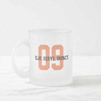 Caneca De Café Vidro Jateado MGL Cuppa - objetivo #9: Indústria, inovação &