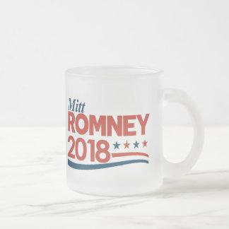 Caneca De Café Vidro Jateado Mitt Romney 2018
