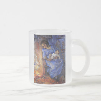 Caneca De Café Vidro Jateado Vincent van Gogh - o homem está em belas artes do