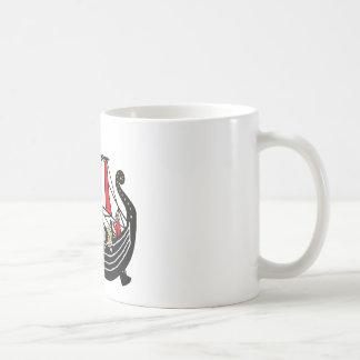 Caneca De Café Viking envia por muito tempo para Viquingues