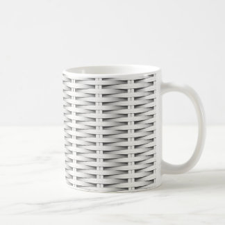 Caneca De Café Vime branco do bastão