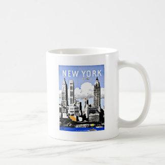 Caneca De Café Vintage de New York América do viagem