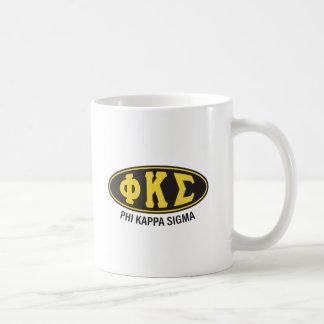 Caneca De Café Vintage do Sigma   do Kappa da phi