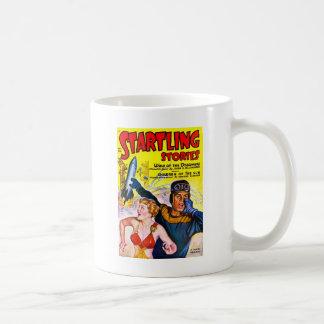 Caneca De Café Vintage Sci Fi cómico - crianças do Sun