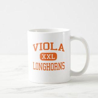 Caneca De Café Viola - Longhorns - segundo grau - viola Arkansas