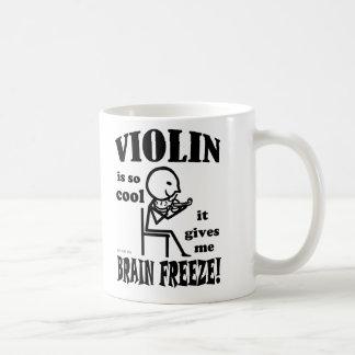 Caneca De Café Violino, gelo do cérebro