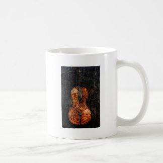 Caneca De Café Violoncelo escuro da alma