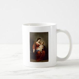 Caneca De Café Virgin e criança do cristo