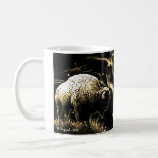 Caneca De Café Visão do búfalo