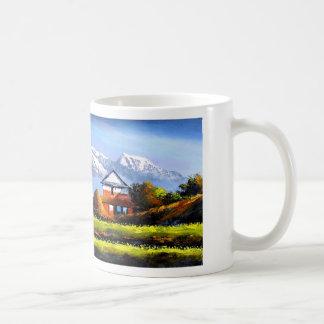 Caneca De Café Vista panorâmica da montanha bonita de Everest