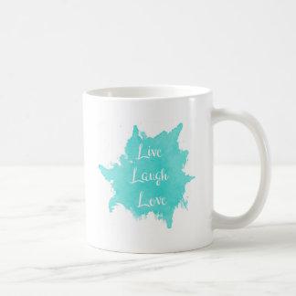 Caneca De Café Vive o amor do riso