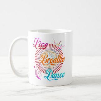 Caneca De Café Vivo respire a dança