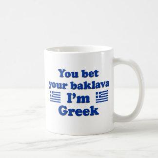 Caneca De Café Você aposta seu Baklava que eu sou o grego 2