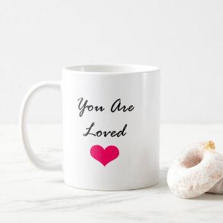Caneca De Café Você é amado… Assim… Posso eu ter 50 fanfarrões?