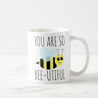 Caneca De Café Você é assim abelha Utiful