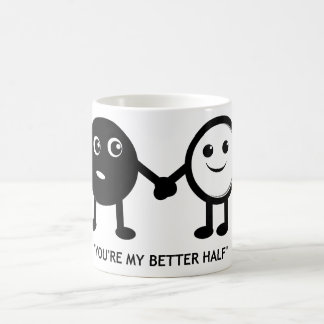 Caneca De Café Você é minha melhor metade
