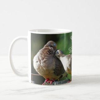 Caneca De Café Você é minha pomba bonita da manhã de Dovey