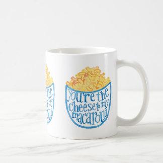 Caneca De Café Você é o queijo a meu macarrão