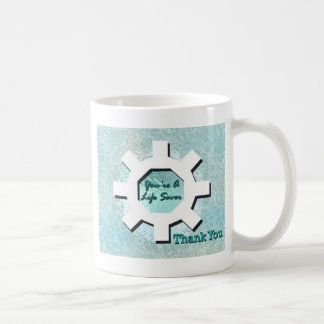 Caneca De Café Você é um obrigado da poupança de vida você