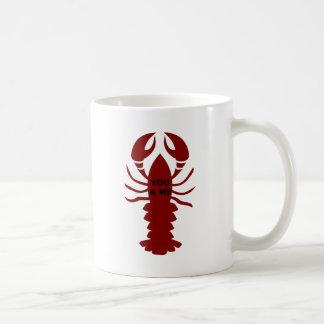Caneca De Café Você & eu são lagostas