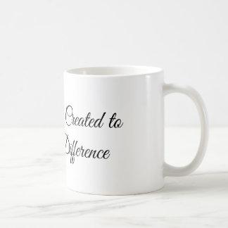 Caneca De Café Você foi criado para fazer uma diferença