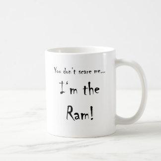 Caneca De Café Você não faz susto mim… ram