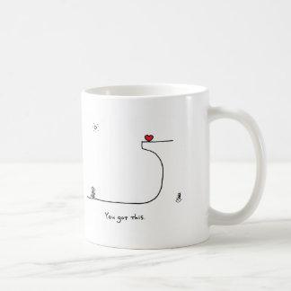 """Caneca De Café """"Você obteve este."""" por HeartsAndAll"""