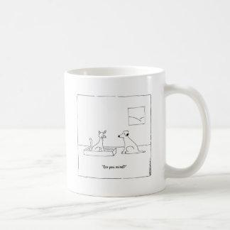 Caneca De Café você ocupa-se