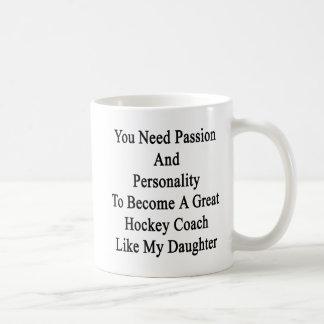 Caneca De Café Você precisa a paixão e a personalidade de