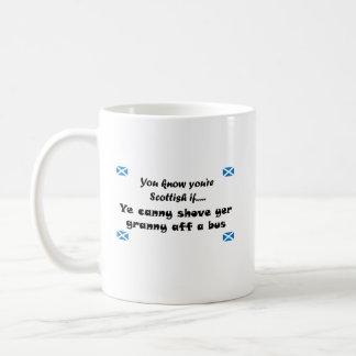 Caneca De Café Você sabe que você é escocês….