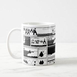 Caneca De Café Você será meu pinguim?