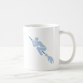 Caneca De Café voo na vassoura mágica