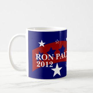 Caneca De Café Voto Ron Paul para o presidente eleição 2012