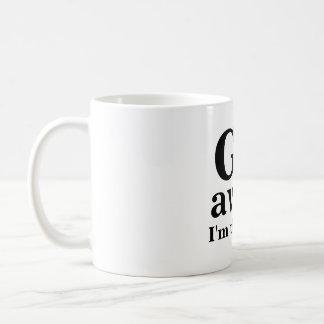 Caneca De Café VOU, afastado, eu estou pensando