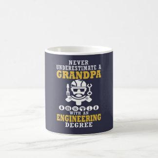 Caneca De Café Vovô da engenharia