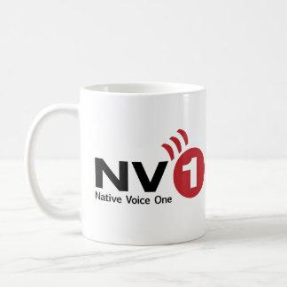 Caneca De Café Voz nativa um copo