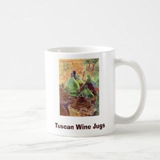 Caneca De Café W063 cópia, jarros do vinho de Tuscan, criações de