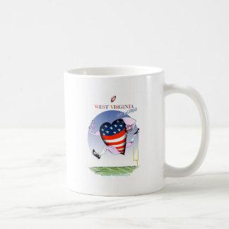Caneca De Café w fernandes tony altos e orgulhosos de Virgínia,