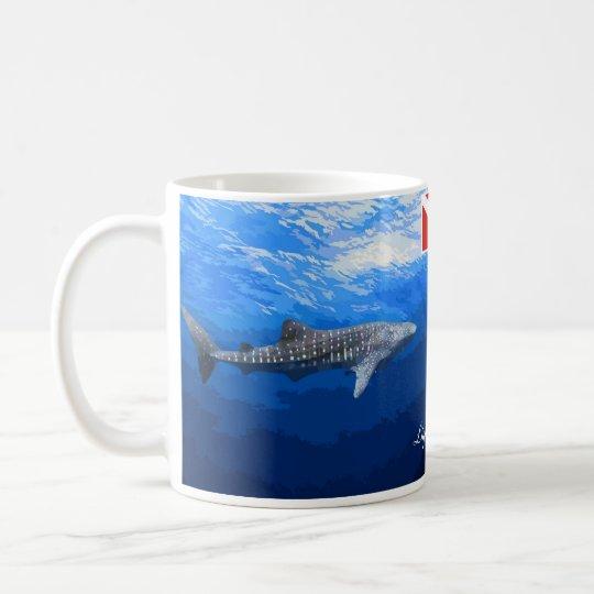 Caneca De Café Whale Shark Mug