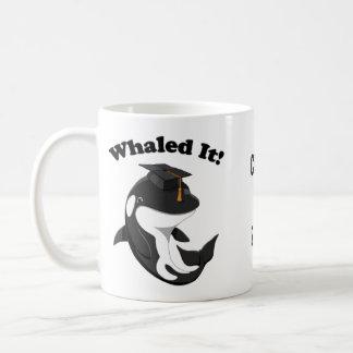 Caneca De Café Whaled ele classe de 2017 baleias de assassino