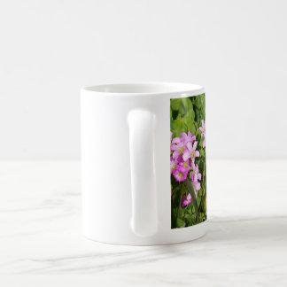 Caneca De Café wildflowers cor-de-rosa em seu copo