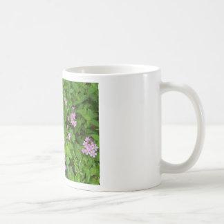 Caneca De Café Wildflowers delicados cor-de-rosa pequenos