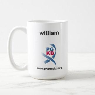 Caneca De Café william - estudo sobre