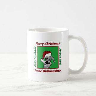 Caneca De Café Wolfhound irlandesa natal