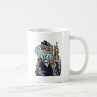Caneca De Café Xerife do dragão do vapor