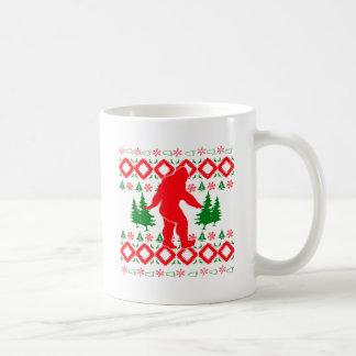 Caneca De Café Xmas feio Bigfoot