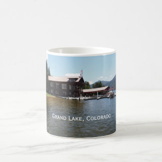 Caneca De Café Yacht club grande do lago no lago grande, Colorado