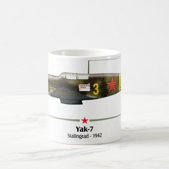 Caneca De Café Yak-7 - Battle of Stalingrad -1942
